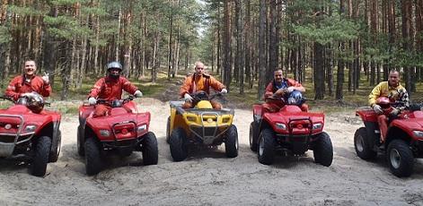 ATV And Quad Bikes | ATV Safari | Day Activities | Weekend In Riga