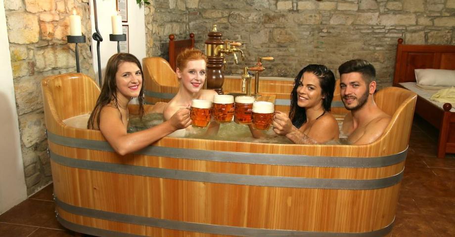 Never experienced spa procedure | Beer Spa  | Day Activities | Weekend In Riga