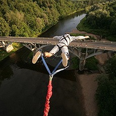 Bungee Jumping | Day Activities | Weekend In Riga
