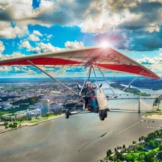 Hang Gliding Flight | Day Activities | Weekend In Riga