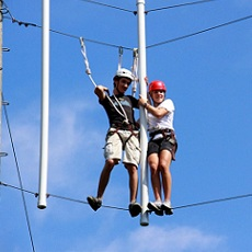 Is It Safe? | High Ropes | Day Activities | Weekend In Riga