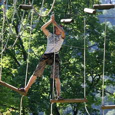 Power Route. | High Ropes | Day Activities | Weekend In Riga