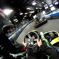 Indoor Go-Karting | Day Activities | Weekend In Riga