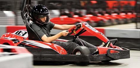 Go-Karting Track | Indoor Go-Karting | Day Activities | Weekend In Riga