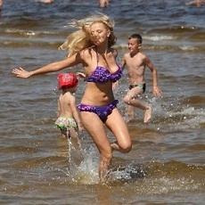Swimming. | Jurmala Sightseeing | Day Activities | Weekend In Riga
