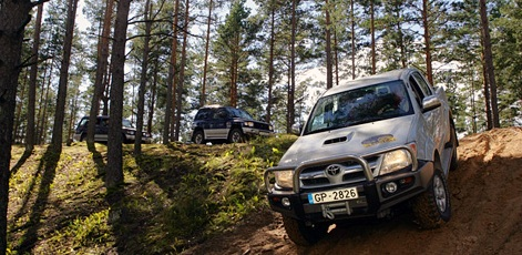 Off Road Driving on slopes | Off Road Adventure | Day Activities | Weekend In Riga