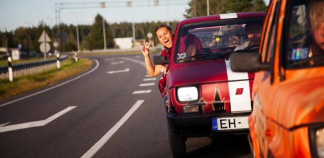 Fun and easy to drive | Pan Car Rally | Day Activities | Weekend In Riga