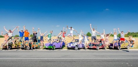 Prize for the winnig team | Pan Car Rally | Day Activities | Weekend In Riga