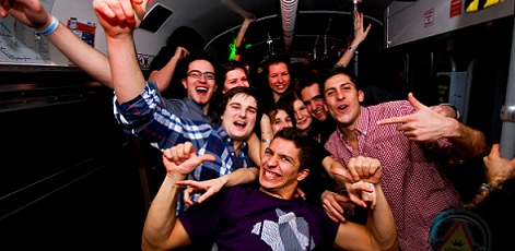 Party Bus | Party Bus VIP Tour | Night Activities | Weekend In Riga