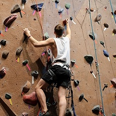 Defying Gravity | Rock Climbing | Day Activities | Weekend In Riga