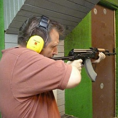 Shooting 4 Guns | Day Activities | Weekend In Riga