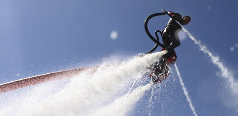 The Idea | Water Jetpack | Day Activities | Weekend In Riga