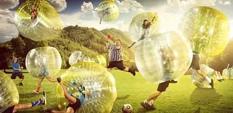 Zorbing + Footbal? | Zorb Football | Day Activities | Weekend In Riga