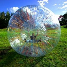 Zorbing And Rotoring | Day Activities | Weekend In Riga