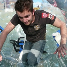 Pumped Up Kicks | Zorbing And Rotoring | Day Activities | Weekend In Riga