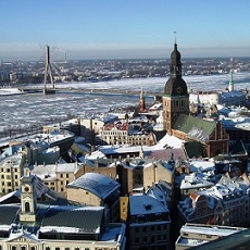 Is Latvia a cold country?